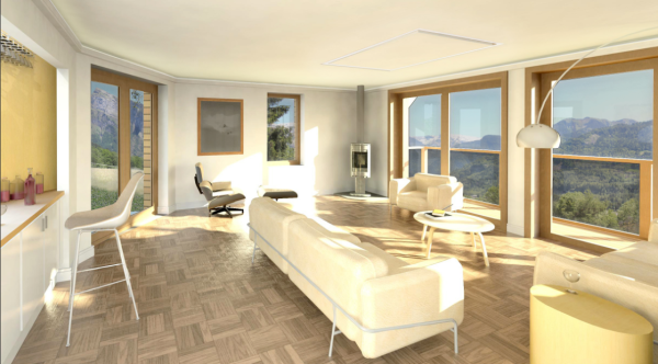Chalet extension, Samoens