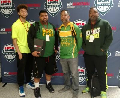 B2B coaches at the USA Basketball Coaches Academy