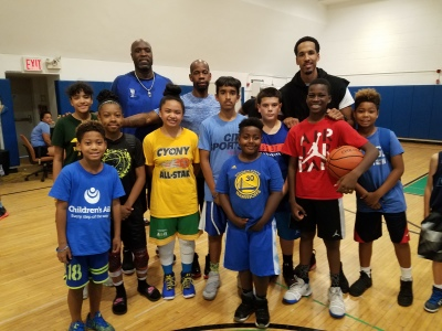 B2B kids having a blast at the Shaun Livingston Clinic