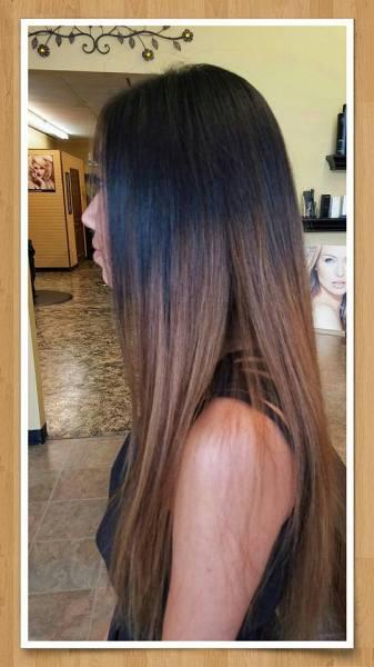 ombre hair color, hair salon in Springfield, MO