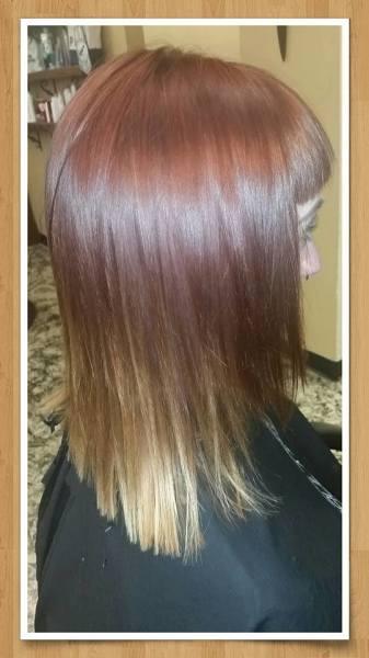 hair cuts and hair highlights