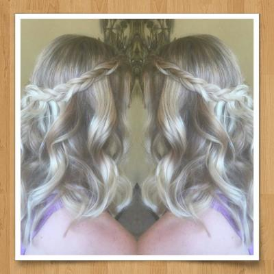 Hair styling for special events