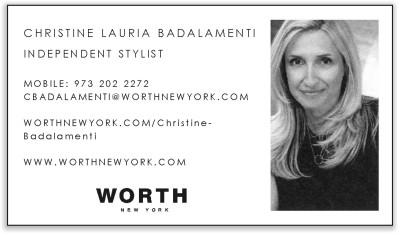 Worth - Christine Badalamenti, Independent Stylist