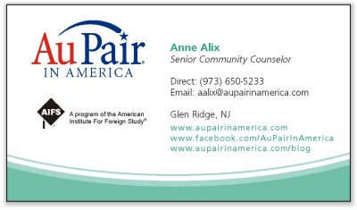 Au Pair in America - Anne Alix, Senior Community Counselor
