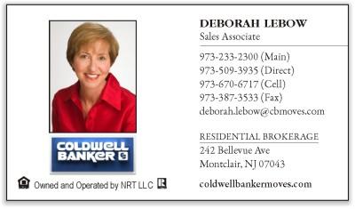 Coldwell Banker - Deborah Lebow, Sales Associate
