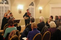 Music program at the Women's Club of Glen Ridge