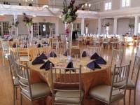 wedding setup Women's Club of Glen Ridge