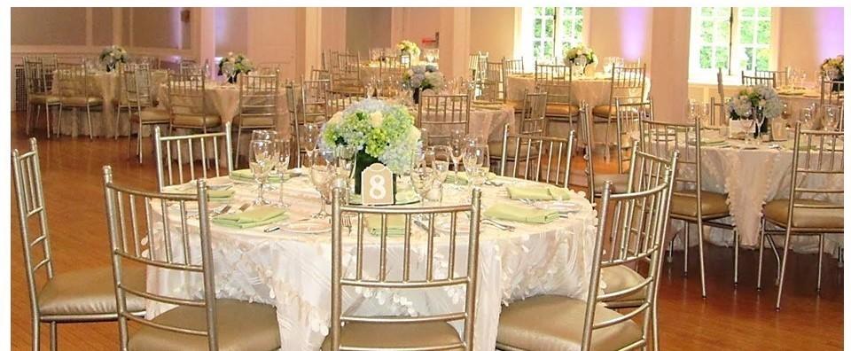 Ballroom White Wedding WCGR Glen Ridge, NJ