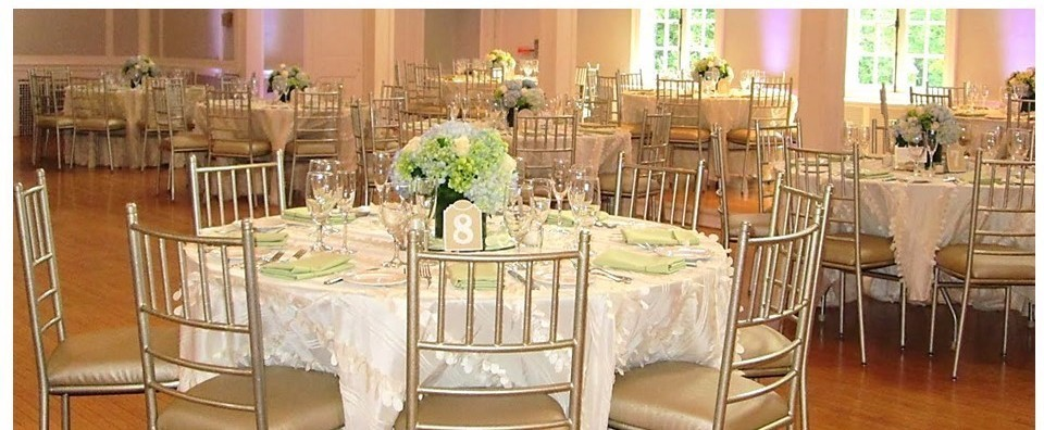Ballroom White Wedding WCGR Glen Ridge, NJ