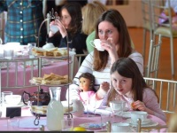 Doll Tea at the WCGR