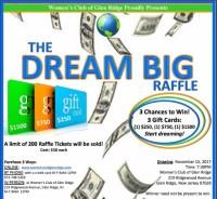 WCGR fundraising Raffle