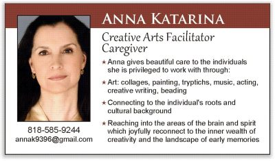 Anna Katarina, Creative Arts Facilitator