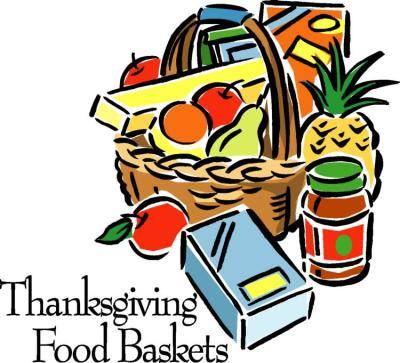 Thanksgiving Baskets WCGR