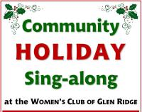 Holiday Sing-Along WCGR