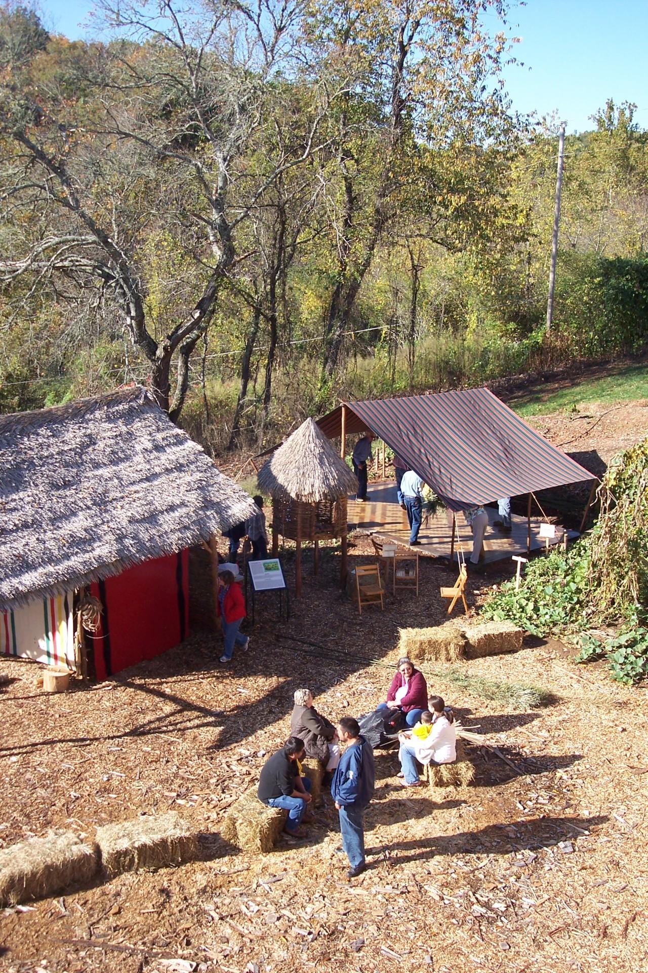 Cherokee Homestead Exhibit