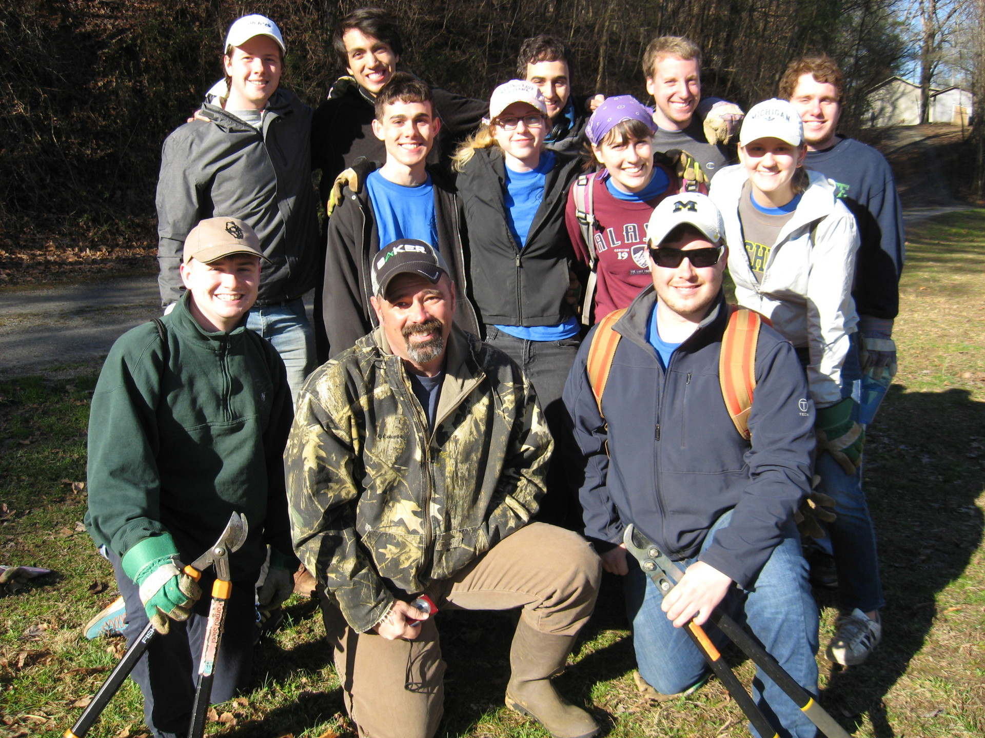 Town Creek Clean-up