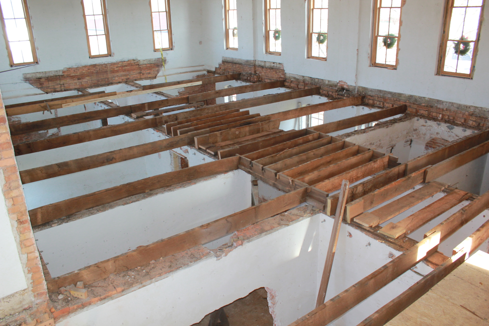 Removal of 2nd Story Floor