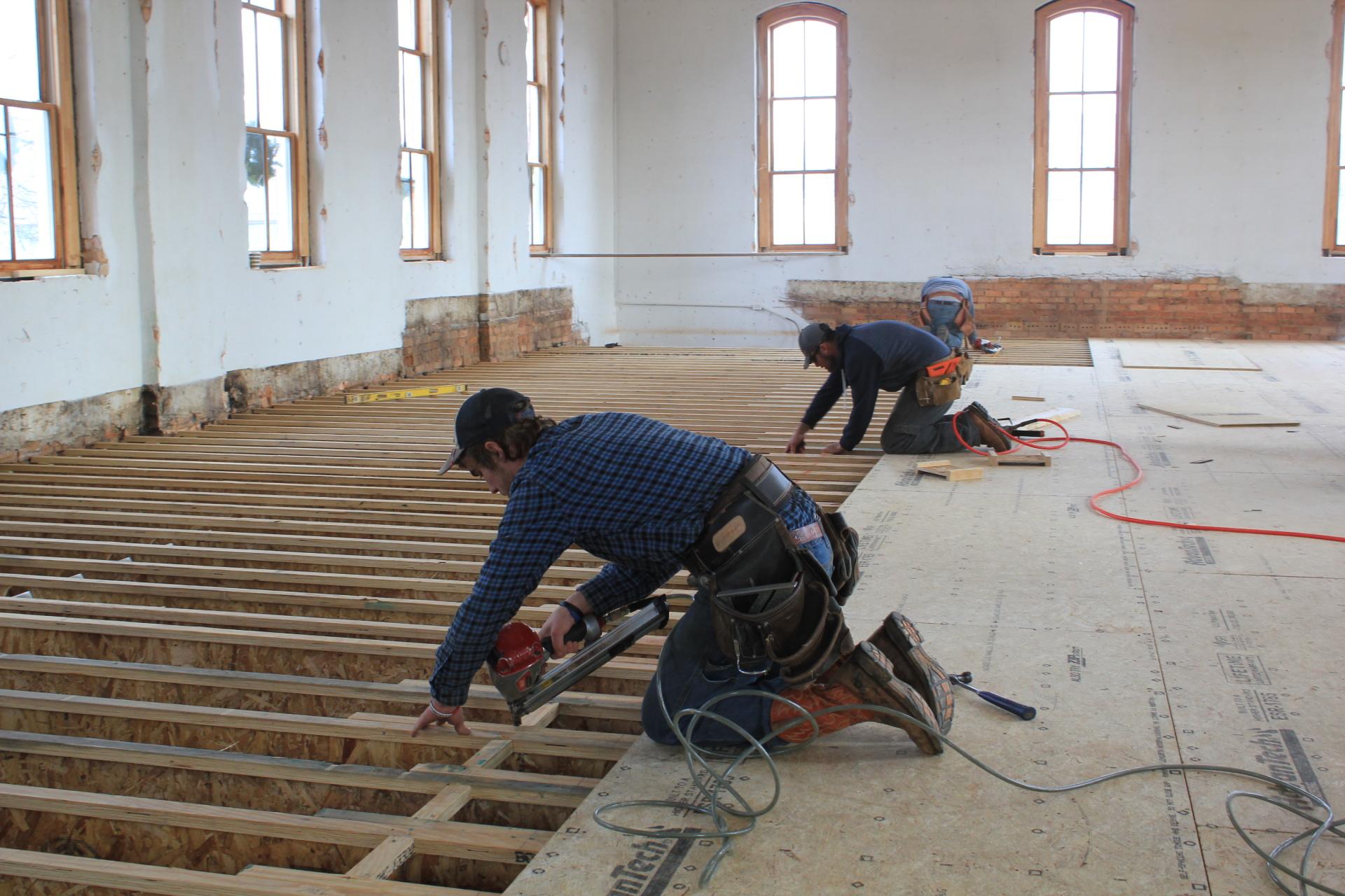 New 2nd Story Flooring