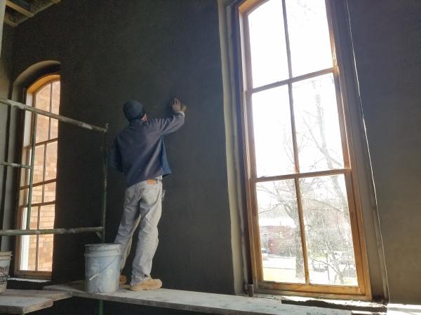 Resurfacing the walls