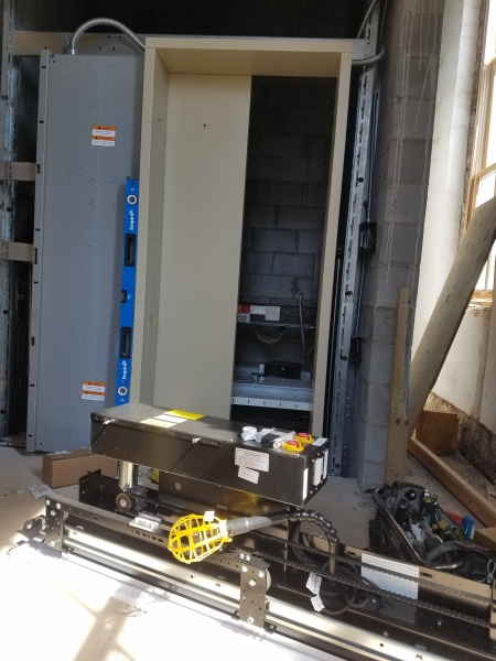 The Elevator Is In!
