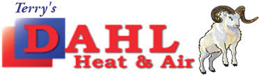 dahl heat & air plumbing logo