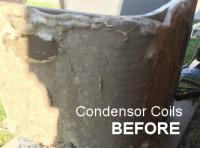 dirty condenser