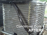 cleaned condenser