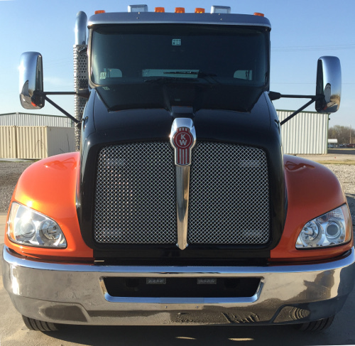 front view truck