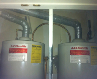 dual water heaters