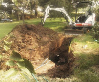 bypassing septic system