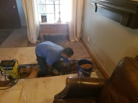 Under-home Sewer Line Replacement