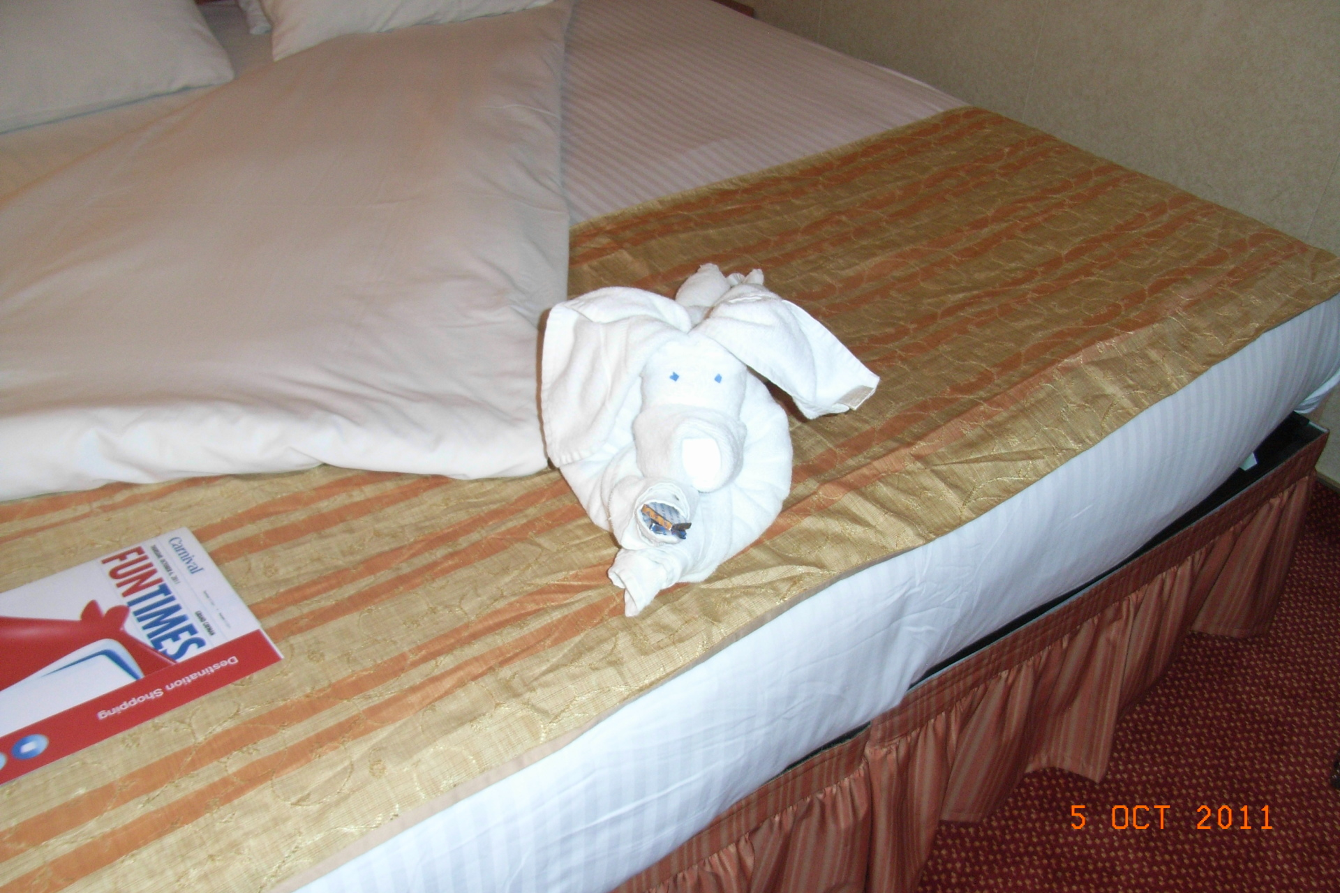 pig towel animal