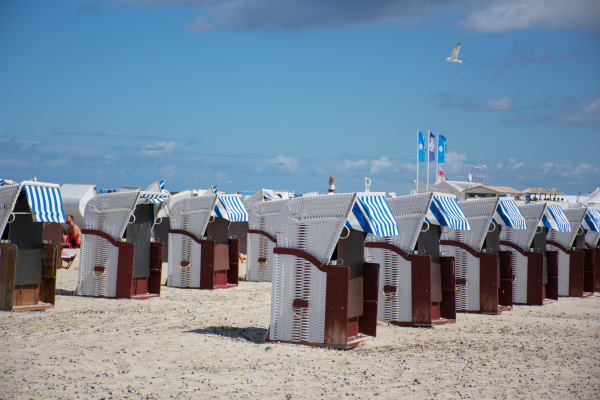 Bathing boxes, German style