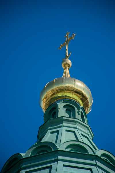 Onion dome on Uspenski Cathedral