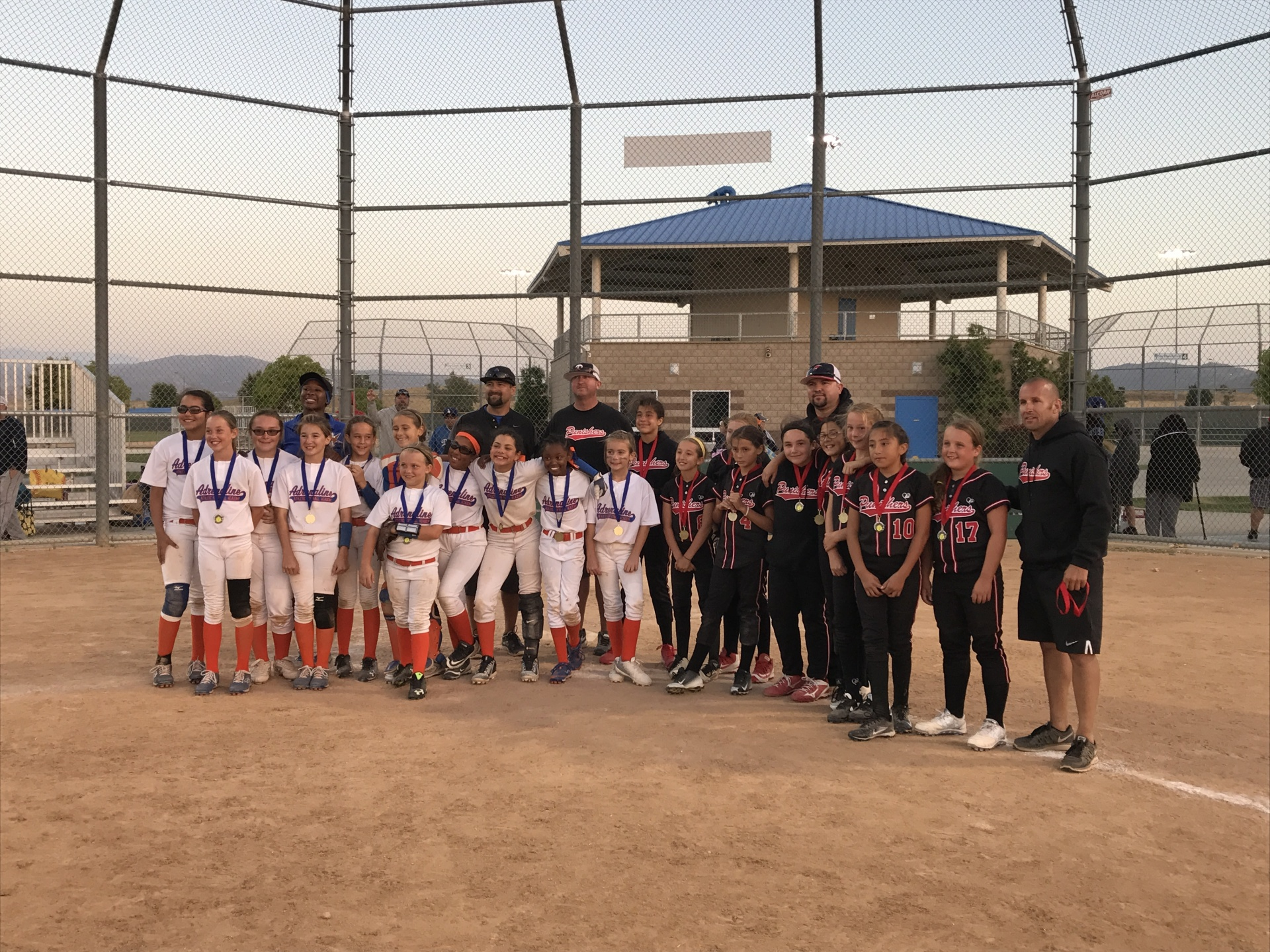 Adrenaline Athletic and Artesia Punishers