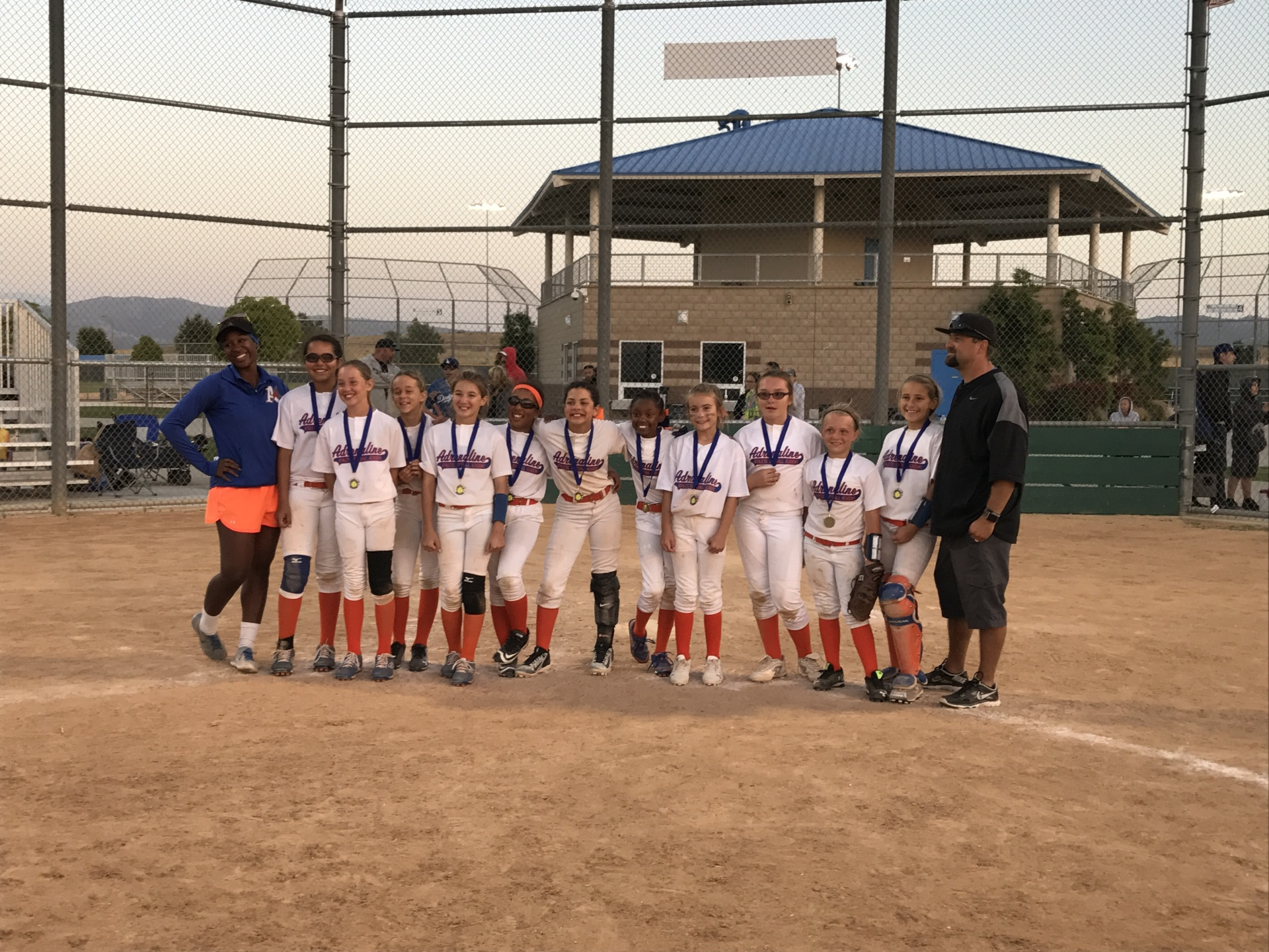 1st Place - Adrenaline Athletic 10u