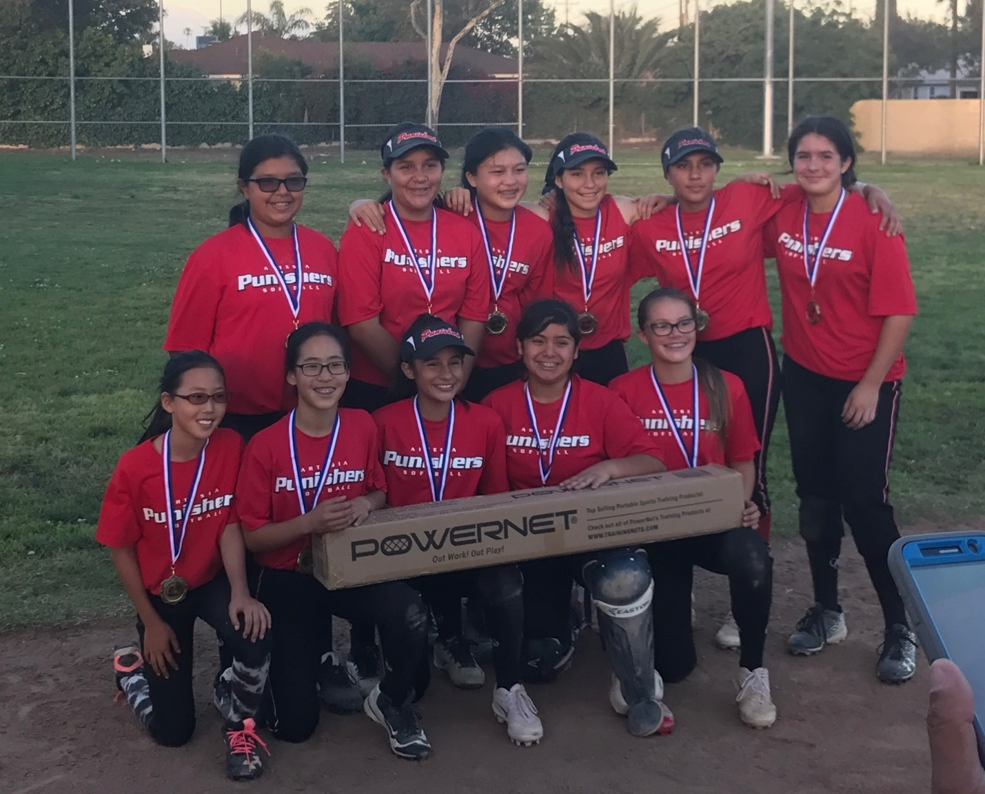 1st Place - Artesia Punishers