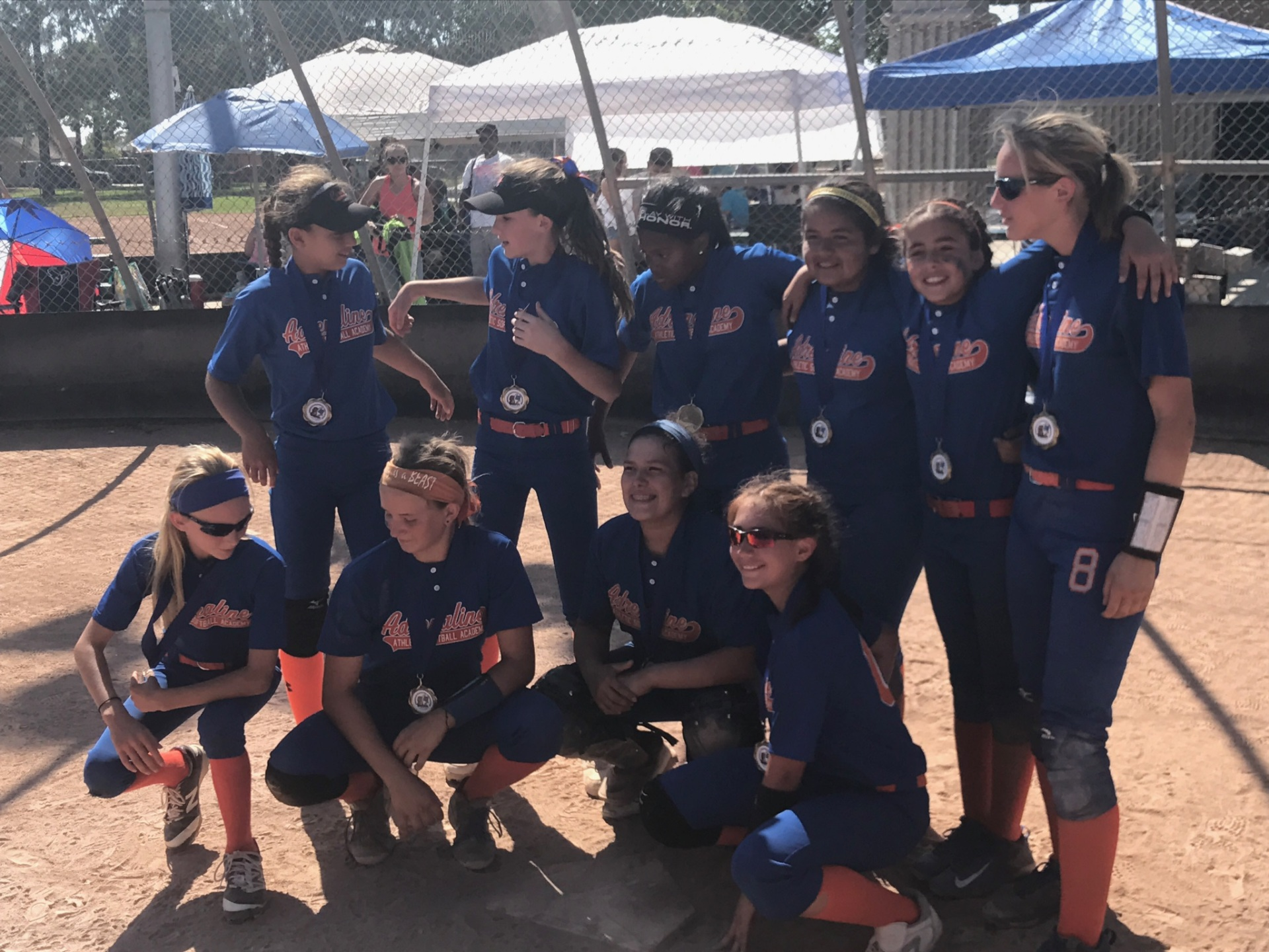 1st Place - Adrenaline Athletic 12u