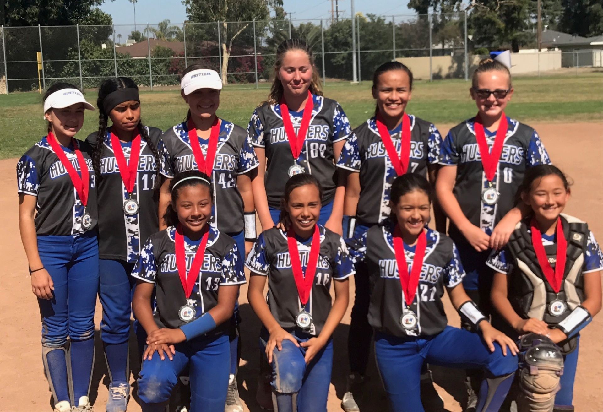 2nd Place - OC Hustlers 12u