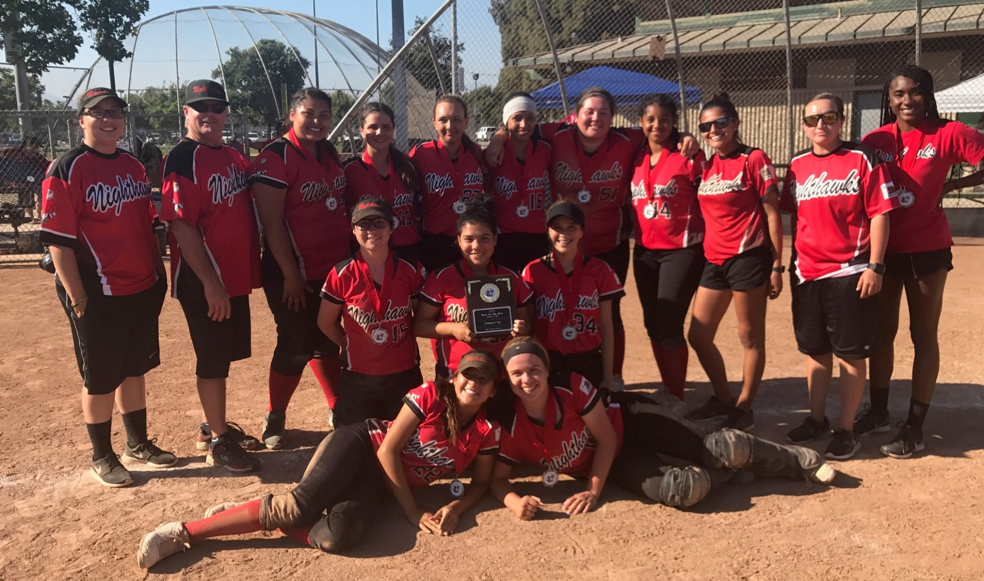 2nd Place - Nighthawks 18u