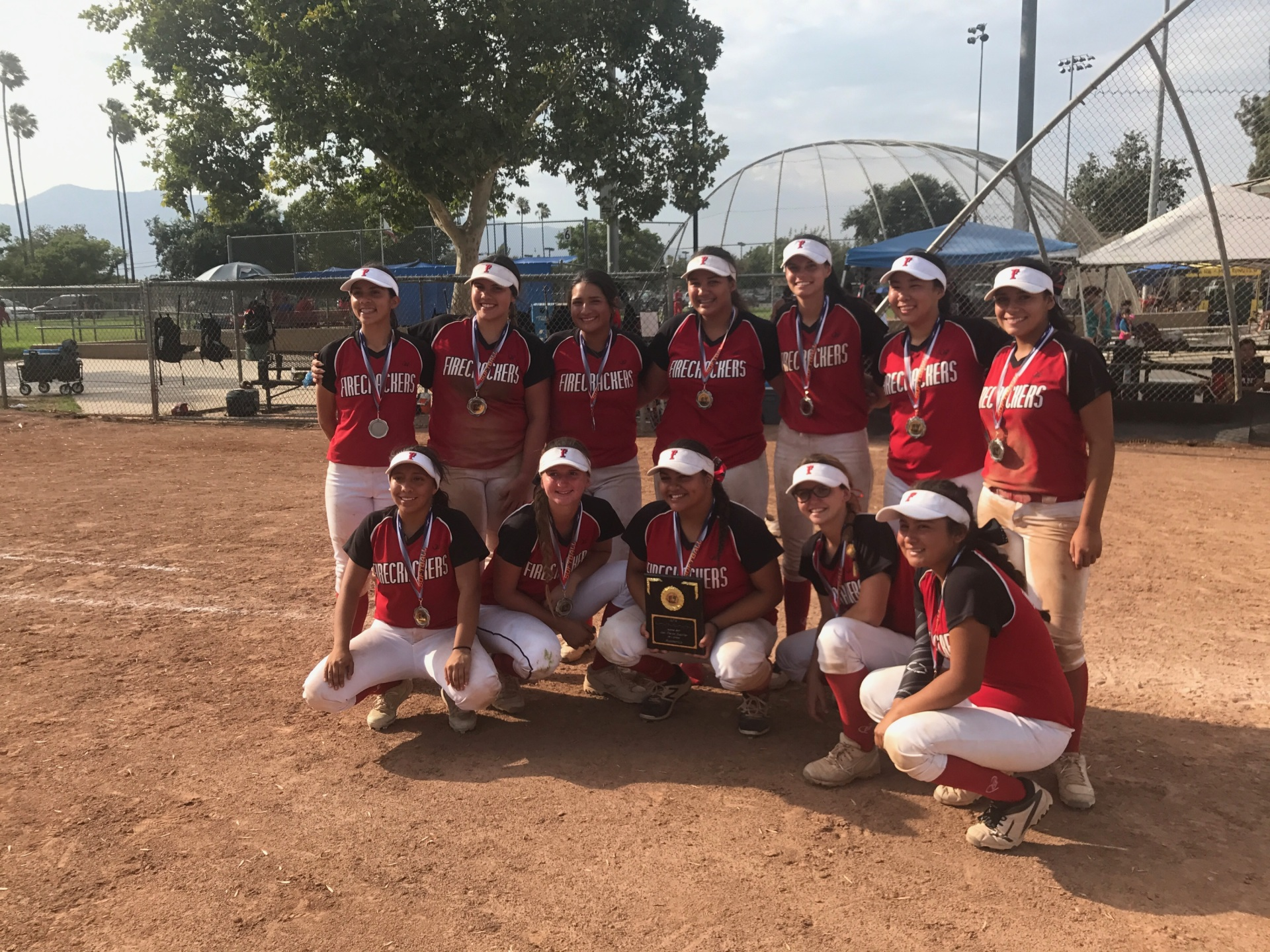 Runner Up - Firecrackers - Ensey/Hernandez 18u