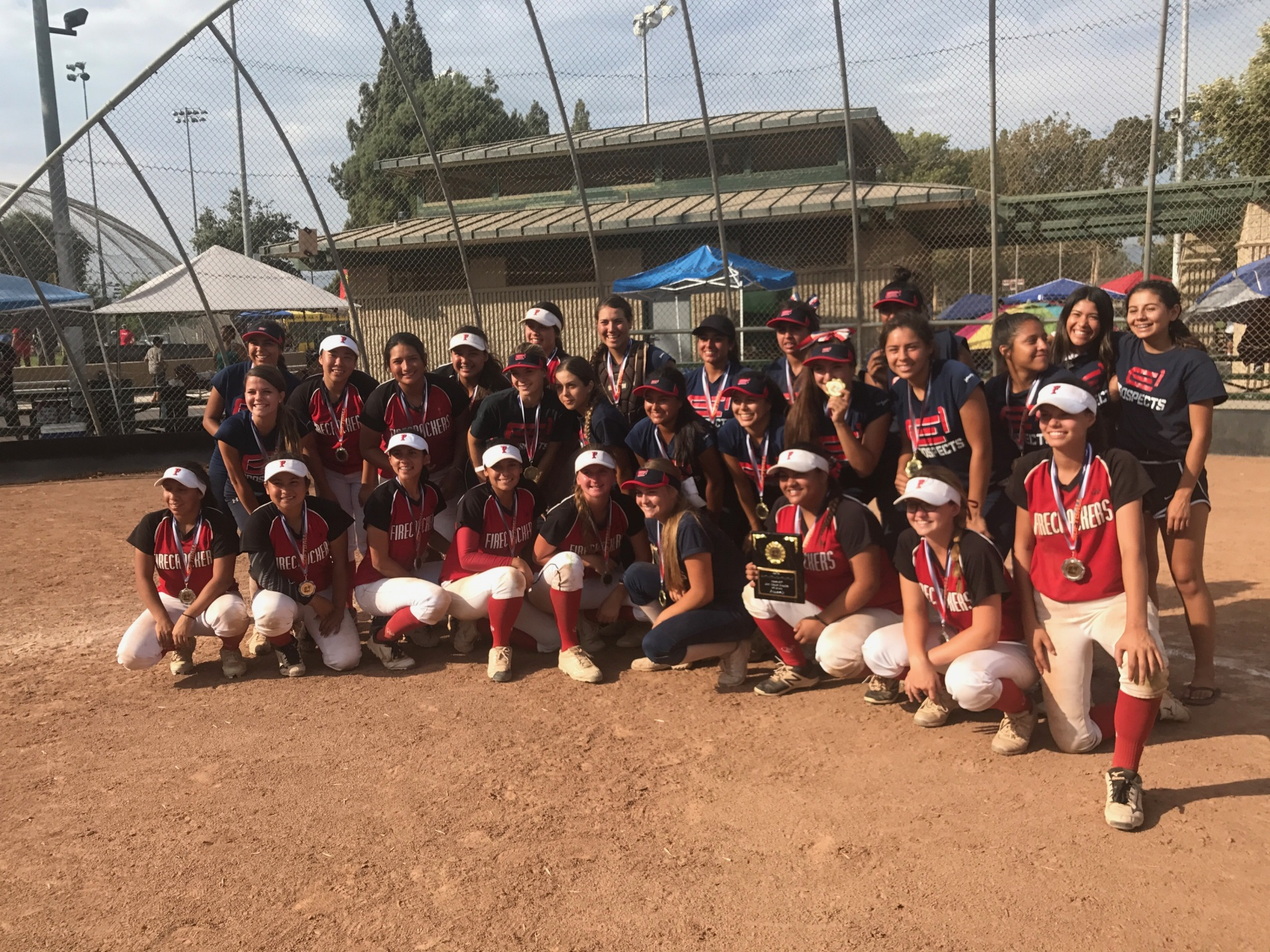 E1 Prospects and Firecrackers 18u
