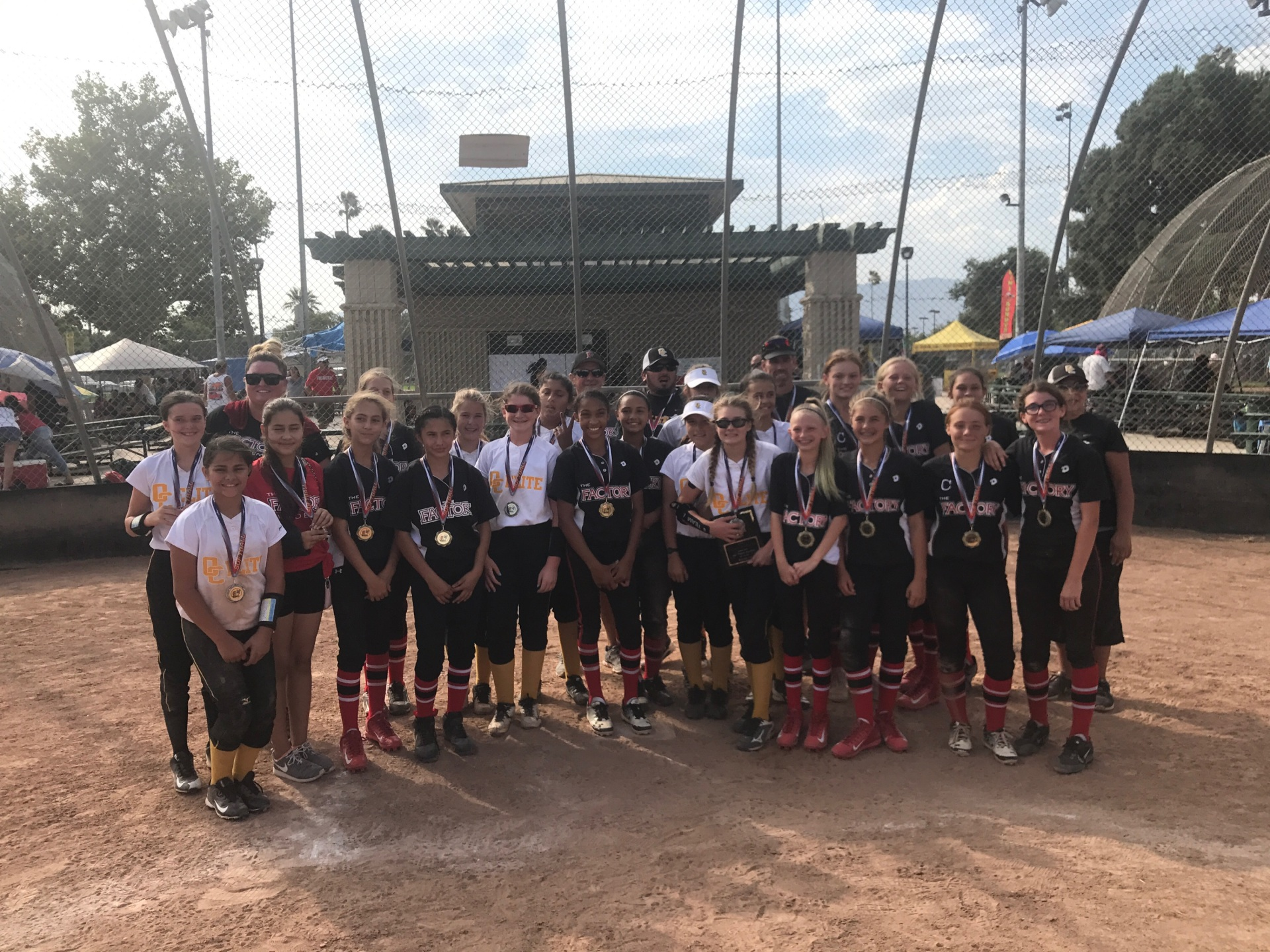 IE Factory and OC Elite 12u