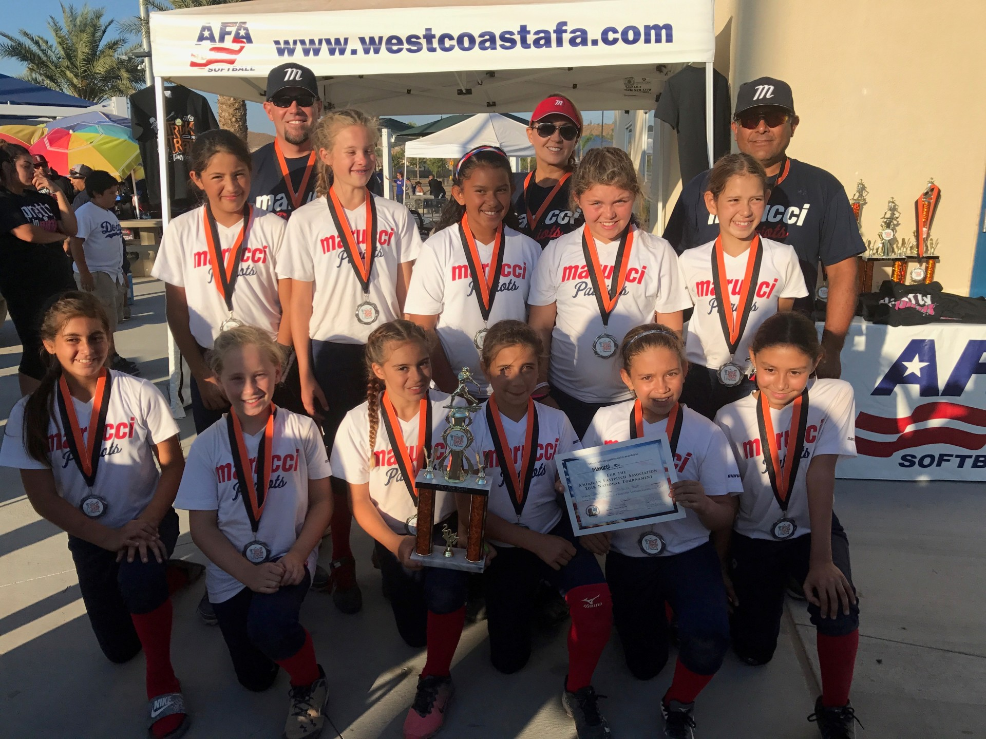 10u Runner Up  -  Marucci Patriots - Jensen