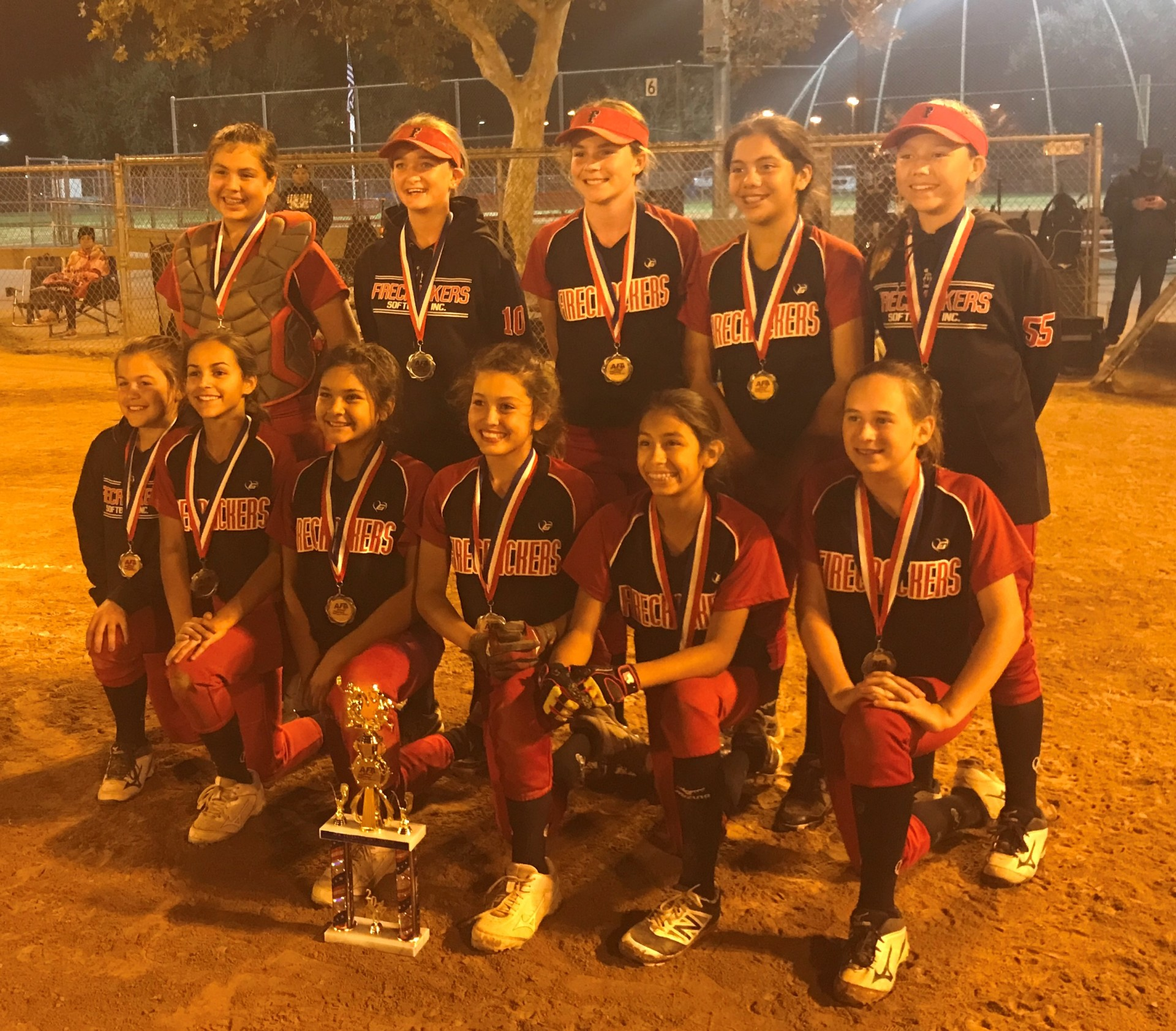 12u Runner Up  -  Firecrackers IV - Schneider