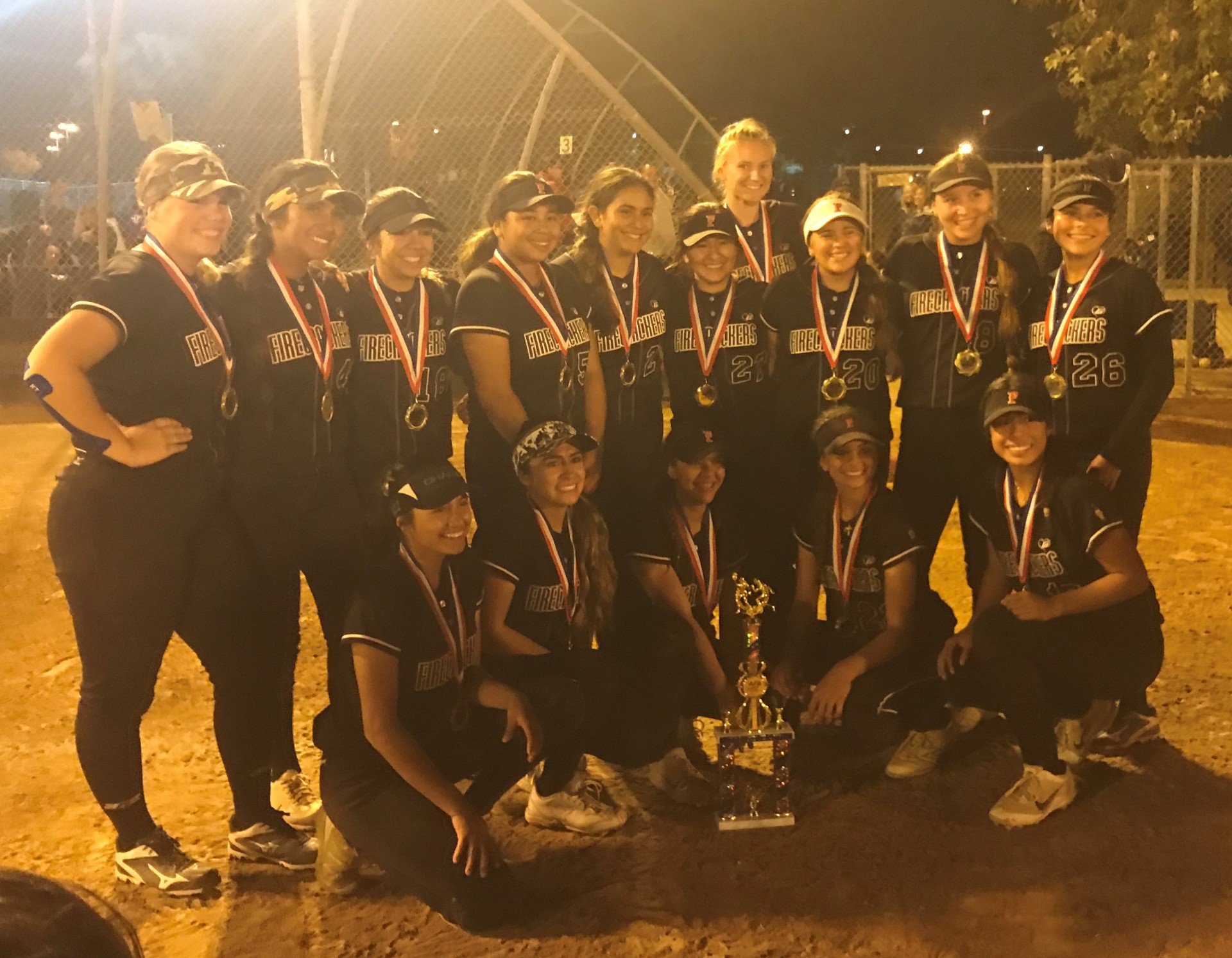18u 1st Place - Firecrackers Eastside