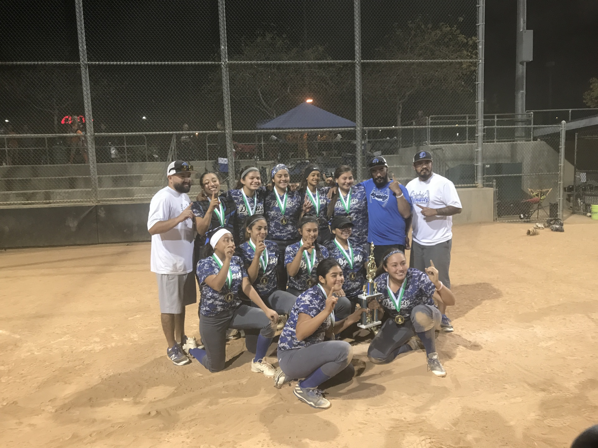 1st Place 14u - IE Dynasty