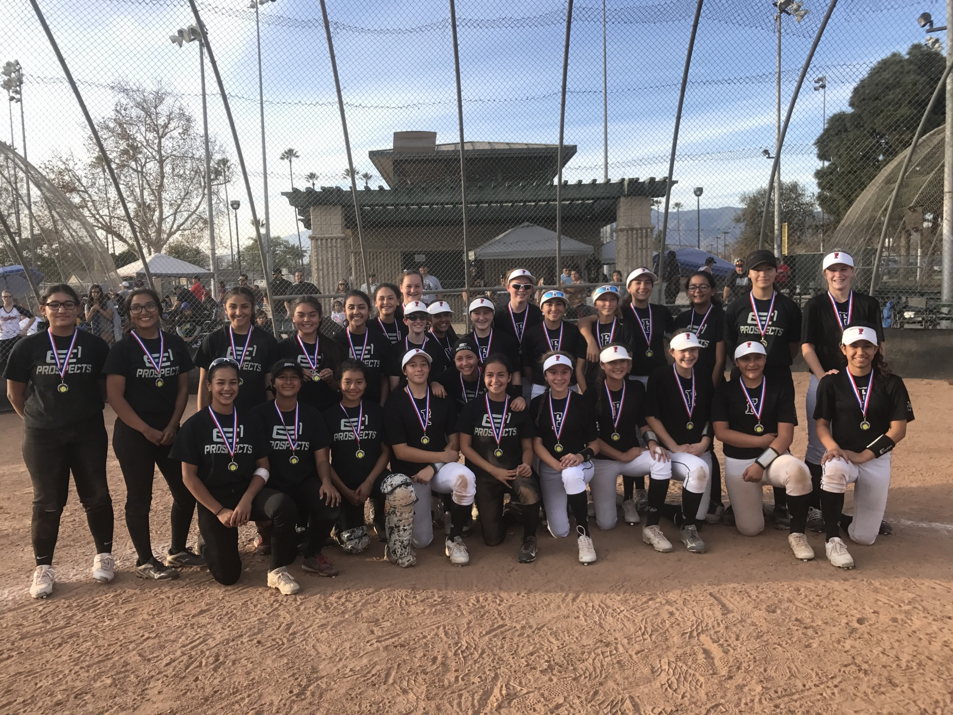 14u Firecrackers and E1 Prospects