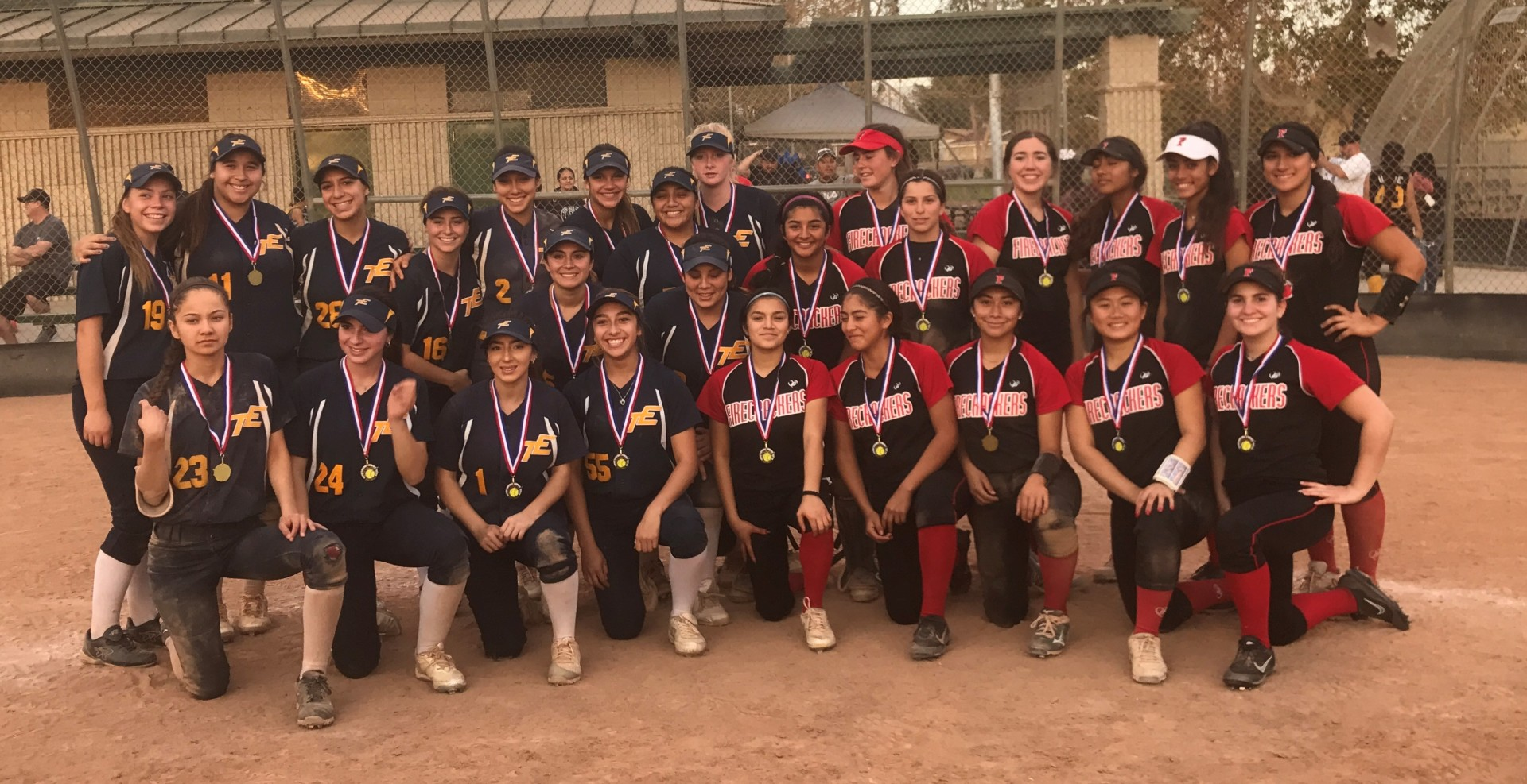 HS Team Easton and Firecrackers Media City