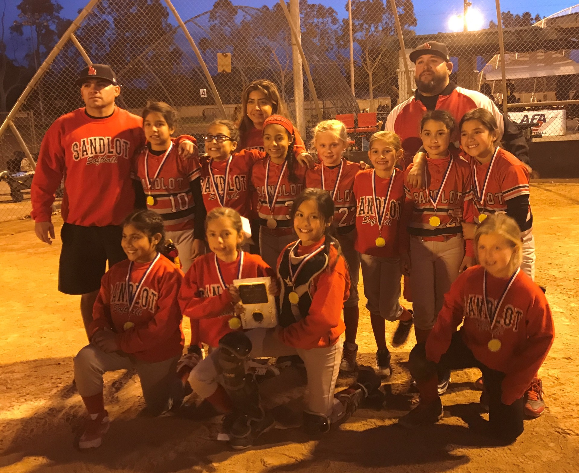 10u - Runner Up - Sandlot Girls